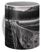 frosty fence in rural Indiana Coffee Mug