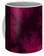 Frosty Fuchsia Fantasy Fractal Coffee Mug