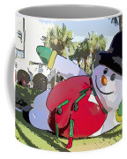 Frosty Is Here Coffee Mug