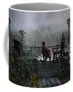 Frosty Morning Golden Coffee Mug