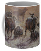 Frosty Morning Coffee Mug by Mia DeLode