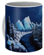 Frosty Night In The Mountains Coffee Mug