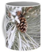 Frosty Norway Pine Coffee Mug