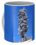 Frosty Pine Coffee Mug