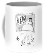 Frosty, The Abominable Snowman Coffee Mug