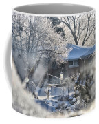 Frosty Winter Window Coffee Mug