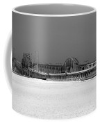 Frozen Bay Bridge Coffee Mug