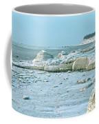 Frozen Beach Coffee Mug