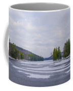 Frozen Bear Creek Lake Coffee Mug
