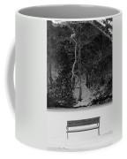 Frozen Bench Coffee Mug