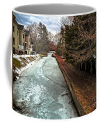 Frozen Canal Coffee Mug