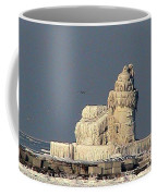 Frozen Cleveland Lighthouse 2010 Coffee Mug