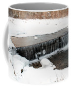 Frozen Falls At Pine Creek Coffee Mug