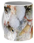 Frozen Fish On Ice Coffee Mug