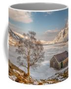 Frozen Lake Ogwen Coffee Mug