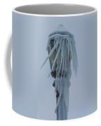Frozen Lantern At The Falls Coffee Mug