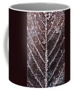 Frozen Leaf Coffee Mug