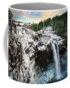 Frozen Snoqualmie Falls Coffee Mug