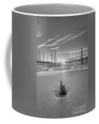 Frozen Sunrise Bw Coffee Mug