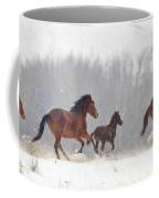 Frozen Track Coffee Mug