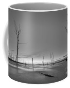 Frozen Trees Bw Coffee Mug