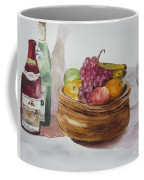 Fruit And Wine Coffee Mug