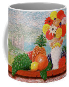 Fruit Flowers And Castle Coffee Mug