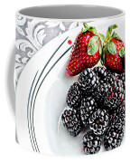Fruit I - Strawberries - Blackberries Coffee Mug