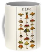 Fruit Lovers Panel 1888 Coffee Mug