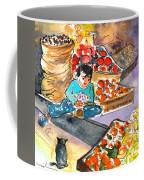 Fruit Shop In The Mountains Of Gran Canaria Coffee Mug