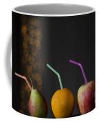 Fruit With Straws Coffee Mug