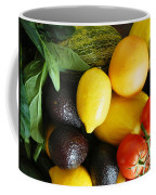 Fruits  And Vegetables  Coffee Mug