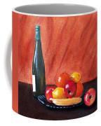 Fruits And Wine Coffee Mug