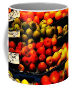 Fruits On The Market Coffee Mug