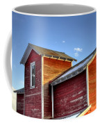 Ft Collins Barn Sunset 13505 Coffee Mug by Jerry Sodorff