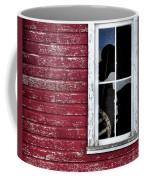 Ft Collins Barn Window 13568 Coffee Mug