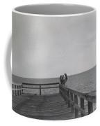Ft.myers Beach Wooden Pier Coffee Mug
