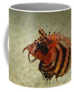 Fu Manchu Lionfish Coffee Mug