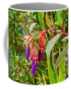 Fuchsia Along The Trail To Huayna Picchu-peru Coffee Mug