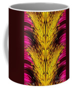 Fuchsia Sensation Abstract Coffee Mug