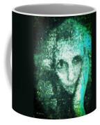 Fugue In Black And Cyan Coffee Mug