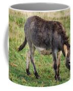 Full Grown Donkey Grazing Coffee Mug