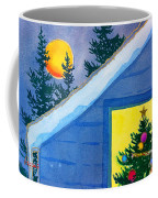 Full Moon At Christmas Coffee Mug