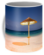Full Moon Beach Hut Coffee Mug