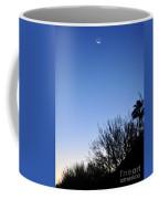 Full Moon Faded Coffee Mug