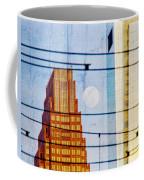 Full Moon In The City Coffee Mug
