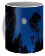 Full Moon In Yosemite Coffee Mug