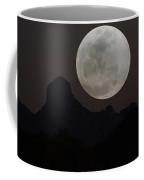 Full Moon Over Baboquivari Coffee Mug