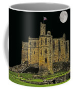 Full Moon Over Medieval Ruins Coffee Mug