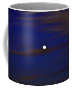 Full Moon With Cirrus Clouds Night Usa Coffee Mug